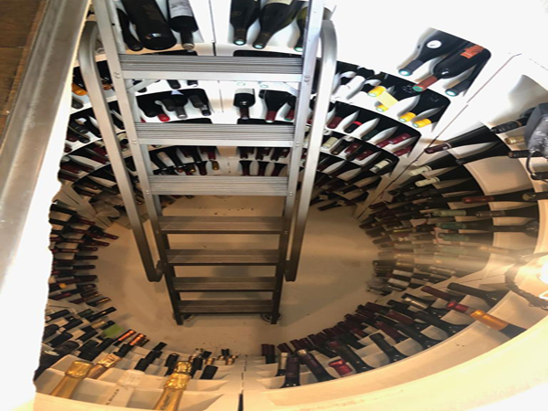 cellar build london