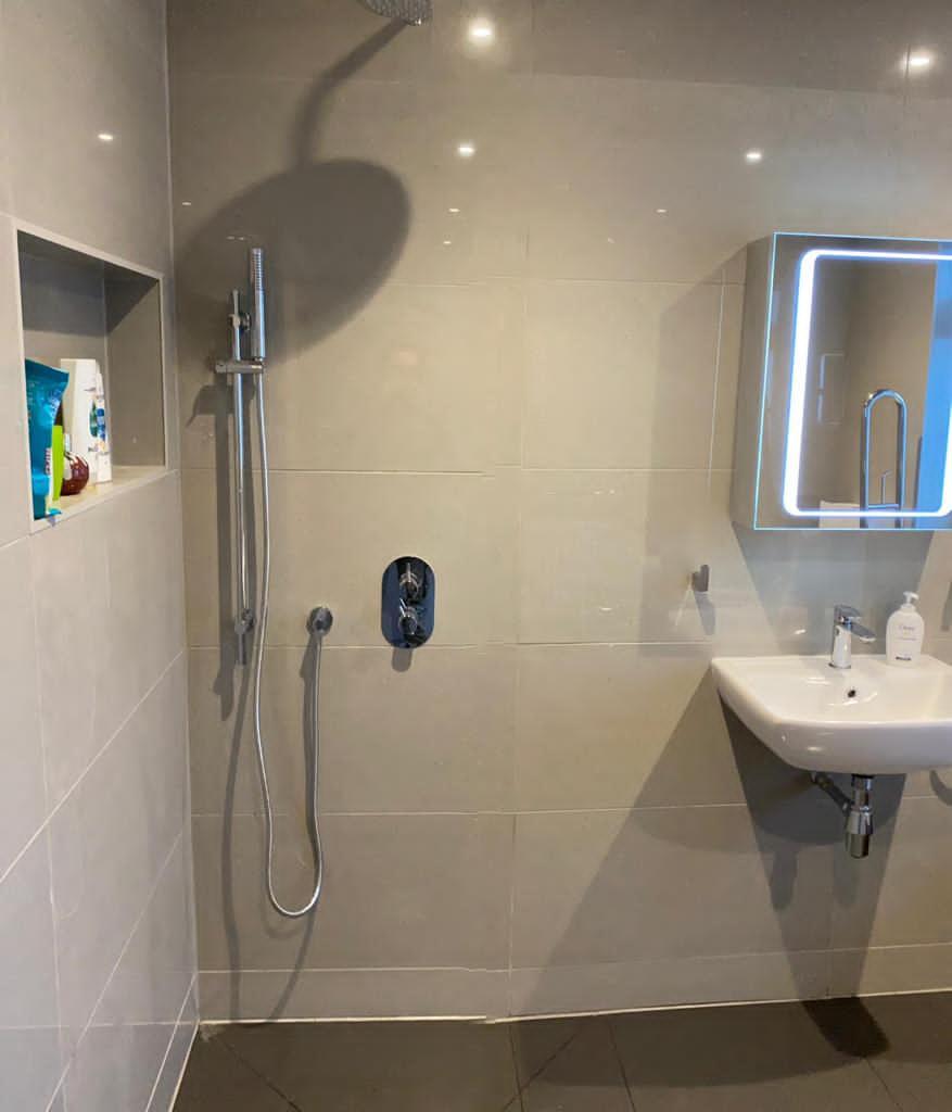 disability shower bathroom bromley