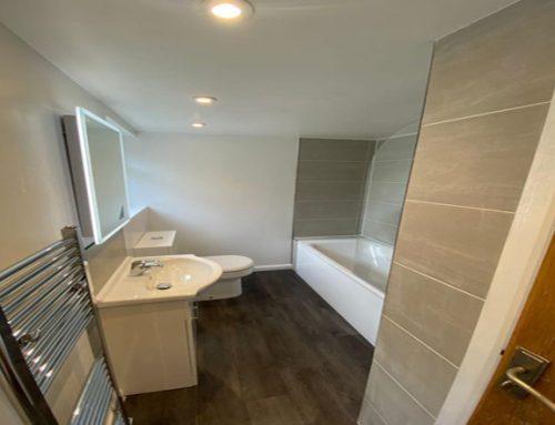 Water Damaged Floor Replacement & New Bathroom Croydon