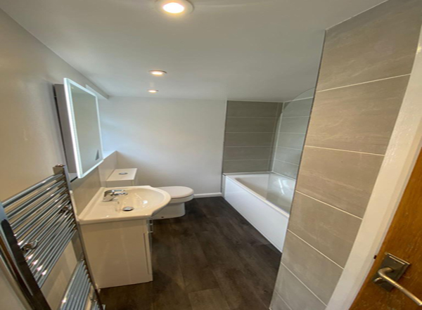 Water Damaged Floor Replacement and New Bathroom Croydon